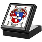 Kinahan Family Crest Keepsake Box