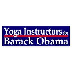 Yoga Instructors for Barack Obama