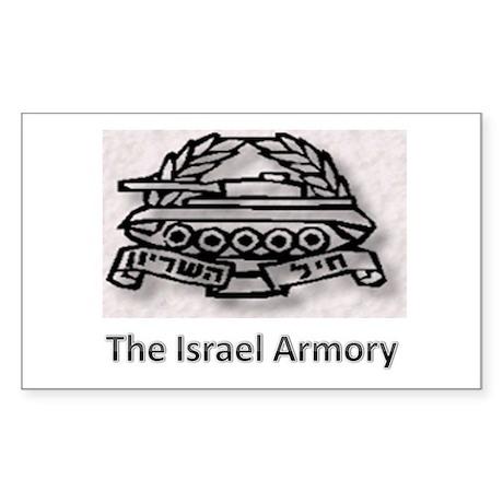 Israek Armory Rectangle Sticker
