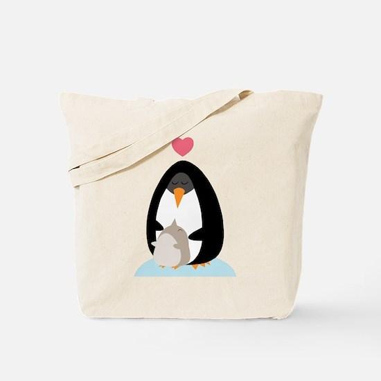 Penguin Love Tote Bag