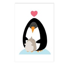 Penguin Love Postcards (Package of 8)