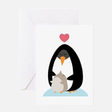 Penguin Love Greeting Card