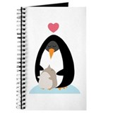 Cute penguin Journals & Spiral Notebooks