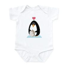 Penguin Love Infant Bodysuit