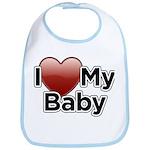 I Love my Baby! Bib