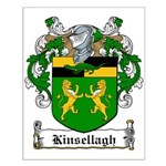 Kinsellagh Family Crest Small Poster