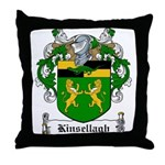 Kinsellagh Family Crest Throw Pillow