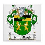 Kinsellagh Family Crest Tile Coaster