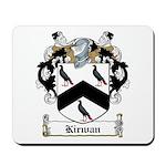 Kirwan Family Crest Mousepad
