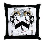 Kirwan Family Crest Throw Pillow
