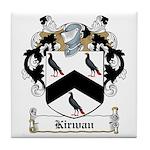 Kirwan Family Crest Tile Coaster