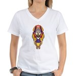 Figure Native Design Women's V-Neck T-Shirt