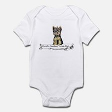 Yorkshire Terrier Dad! Infant Bodysuit