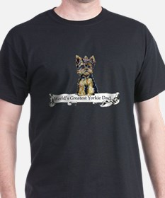 Yorkshire Terrier Dad! T-Shirt