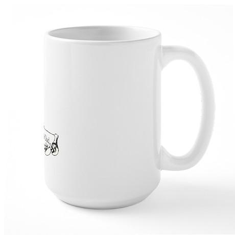 Yorkshire Terrier Dad! Large Mug
