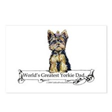 Yorkshire Terrier Dad! Postcards (Package of 8)