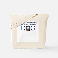 I Like My Dog Tote Bag