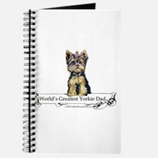 Yorkshire Terrier Dad! Journal