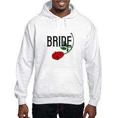 Gothic Rose Bride Hoodie
