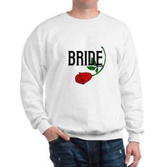 Gothic Rose Bride Sweatshirt