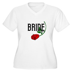 Gothic Rose Bride T-Shirt
