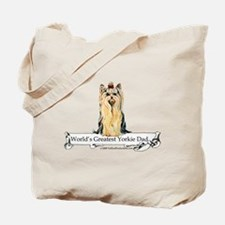 Greatest Yorkshire Terrier Tote Bag