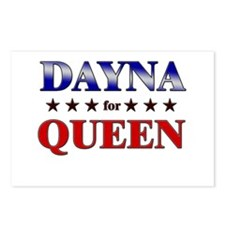 DAYNA for queen Postcards (Package of 8)