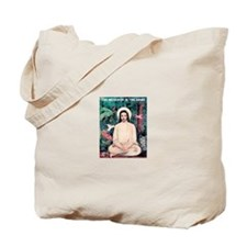 Buddha Jesus Meditating Tote Bag