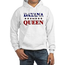 DAYANA for queen Hoodie