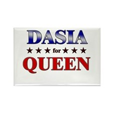 DASIA for queen Rectangle Magnet