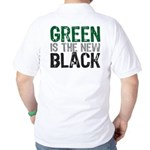 Green Is The New Black Golf Shirt