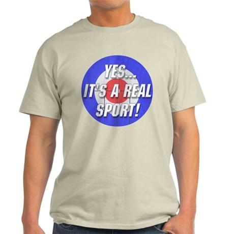 A Real Sport! Curling Light T-Shirt