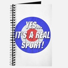 A Real Sport! Curling Journal
