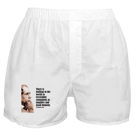 """Dickens """"Laughter"""" Boxer Shorts"""