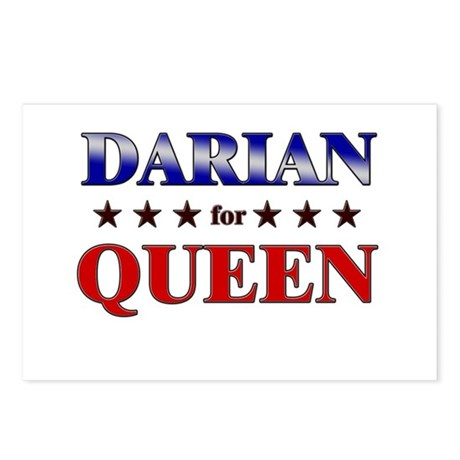 DARIAN for queen Postcards (Package of 8)