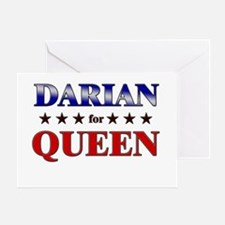 DARIAN for queen Greeting Card