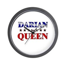 DARIAN for queen Wall Clock