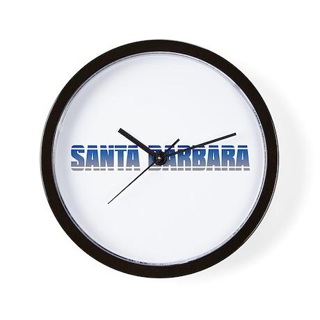 COOL SANTA BARBARA Wall Clock