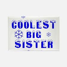 Coolest Big Sister Rectangle Magnet
