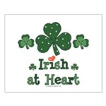 Irish at Heart St Patrick's Small Poster