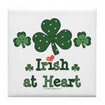Irish at Heart St Patrick's Tile Coaster