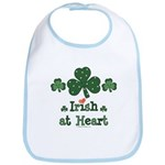 Irish at Heart St Patrick's Bib