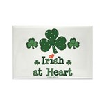 Irish at Heart St Patrick's Rectangle Magnet (10 p