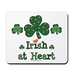 Irish at Heart St Patrick's Mousepad
