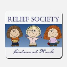 Relief Society Mousepad