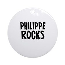 Philippe  Rocks Ornament (Round)