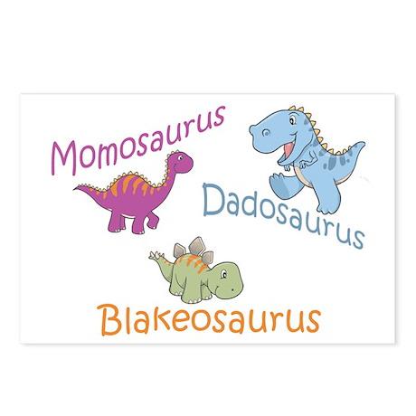 Mom, Dad & Blakeosaurus Postcards (Package of 8)