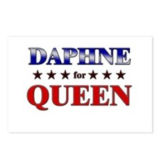 DAPHNE for queen Postcards (Package of 8)