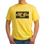Persian Gulf Veteran Yellow T-Shirt