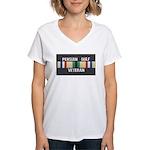 Persian Gulf Veteran Women's V-Neck T-Shirt